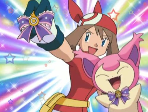Pokemon XY_Haruka Contest