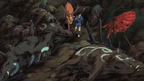 [Princess Mononoke (Mononoke Hime)] - Boars Dead