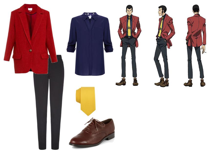 Lupin III fashion Arsene Lupin III