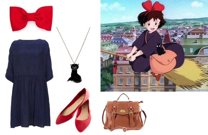 Majo no Takkyuubin Kiki's Delivery Service outfit