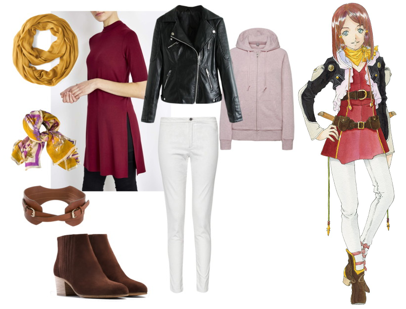 Tales of Zestiria Rose outfit