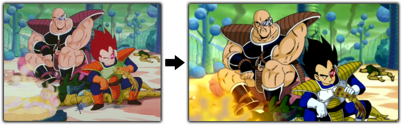 Dragon Ball Z Kai - Vegeta Nappa