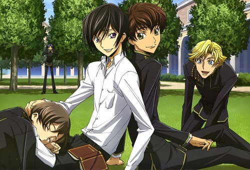 Code Geass hot anime guys