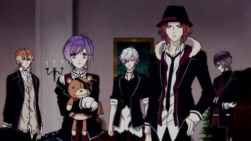 Diabolik Lovers bishounen anime