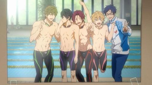 Free! bishounen anime