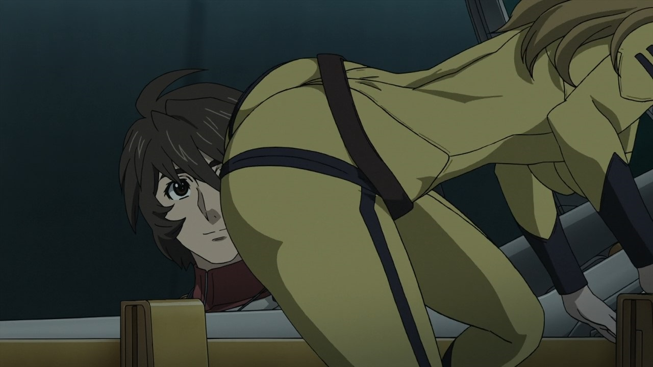 Space Battleship Yamato 2199 anime Butt