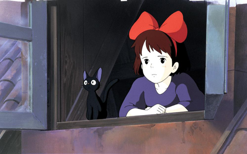 Kiki's Delivery Service Jiji and Kiki