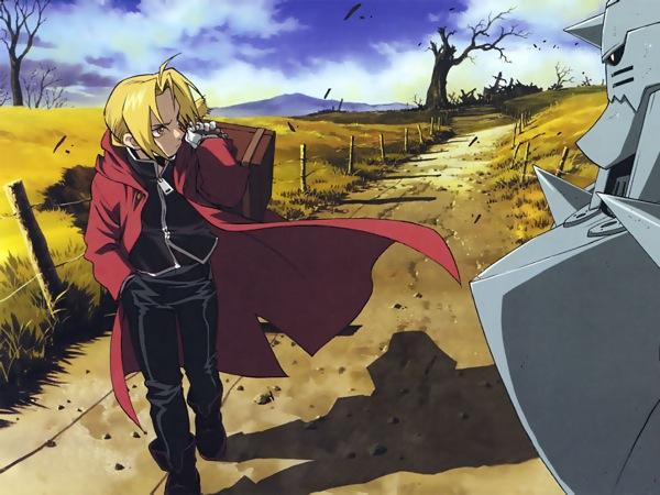 Fullmetal Alchemist Cool anime Alphone Elric Edward Elric