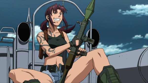 Black Lagoon Cool anime Revy