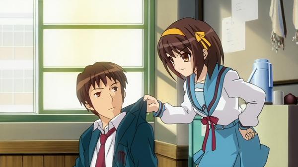 the Melancholy of Haruhi Suzumiya Cool anime Haruhi Suzumiya Kyon