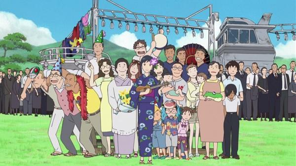 Summer Wars Jinnouchi anime family