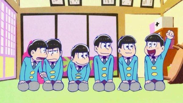 Mr. Osomatsu Matsuno anime family