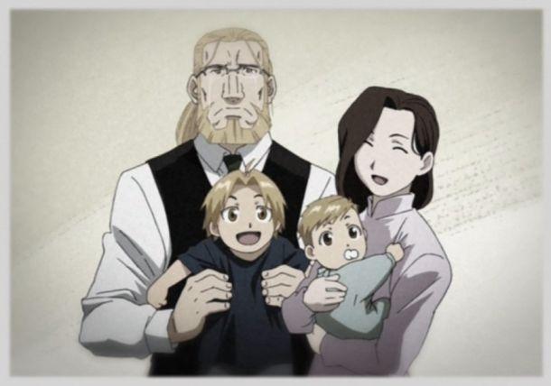 Fullmetal Alchemist Elric anime family