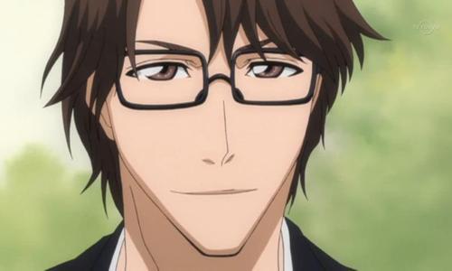 Megane Danshi Sousuke Aizen Bleach glasses