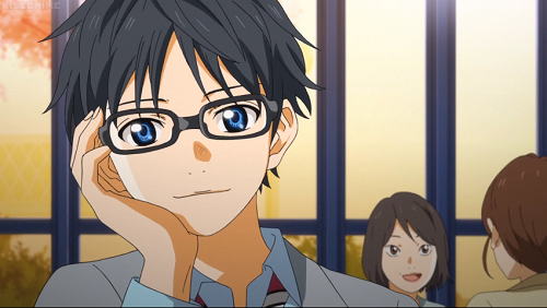 Top 15 Anime Guys Boys With Glasses On Mal Myanimelist Net