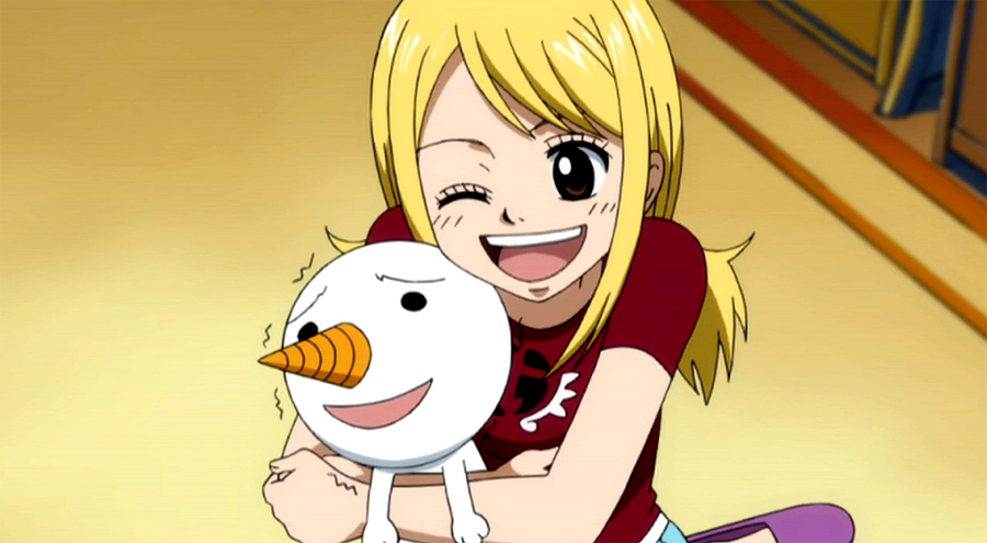 Fairy Tail Lucy Heartfilia & Plue