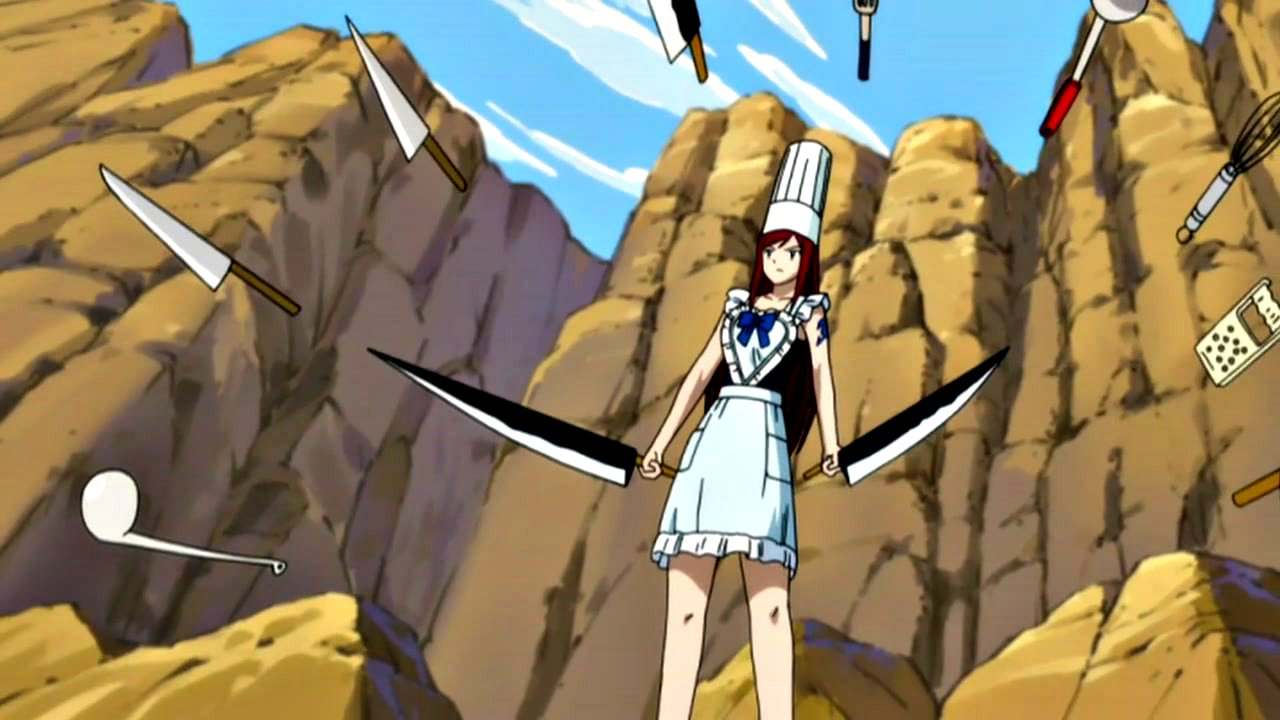 Fairy Tail Erza Scarlet 3