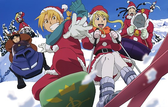 christmas art Fullmetal Alchemist