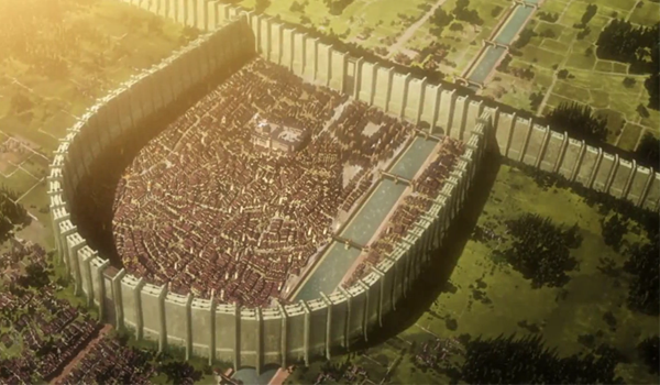 Attack on Titan Facts - City