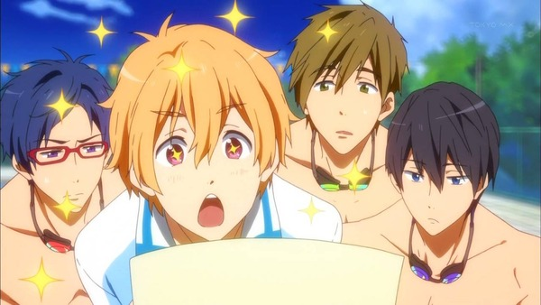 Top 20 Slice of Life Anime Free! Rei Ryuugazaki Haruka Nanase Makoto Tachibana Nagisa Hazuki