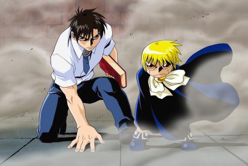 [Zatch Bell!! (Konjiki no Gash Bell!!)], Zatch Bell and Kiyomaru, Pair Shot