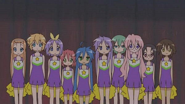Top 20 Slice of Life Anime Lucky Star main cast
