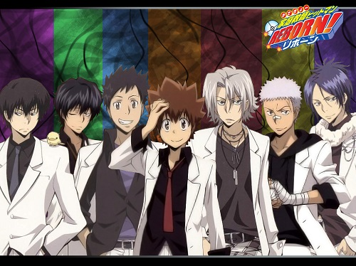 Katekyo Hitman Reborn hot anime guys