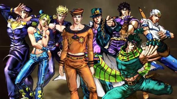 the jojo family JoJo no Kimyou na Bouken anime family