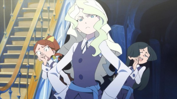 Little Witch Academia hanna and barbera