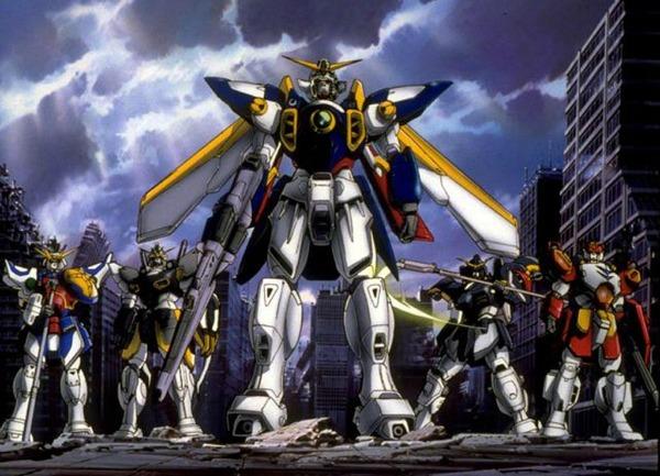 War Anime Mobile Suit Gundam Wing