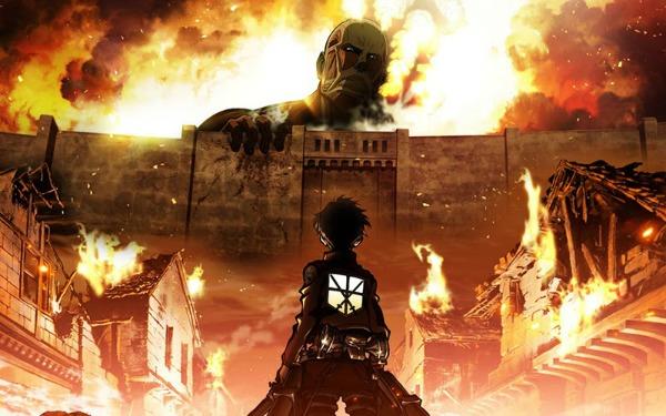 War Anime Shingeki no Kyojin