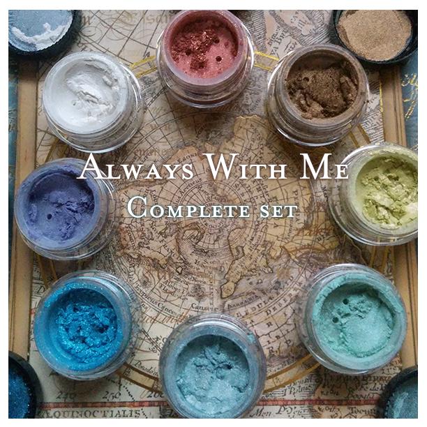 Spirited Away Cosmetics Baroque makeup