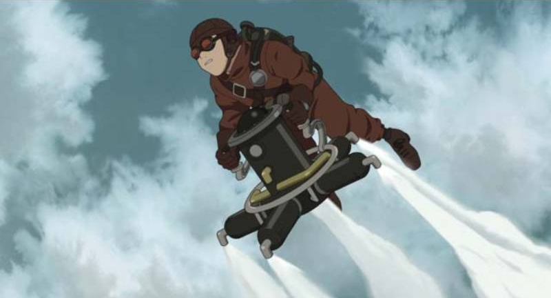 Steamboy, James Ray Steam, Anime, Fly