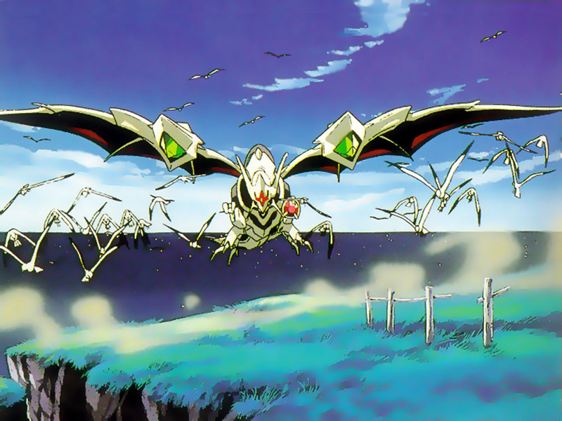 The Vision of Escaflowne, Anime, Fly