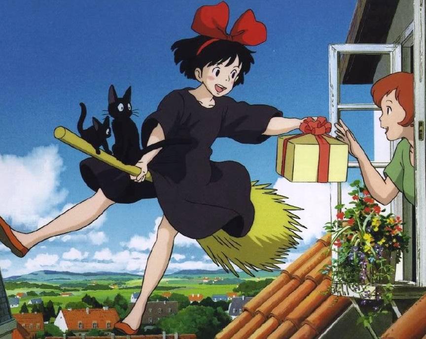Kiki's Delivery Service: Kiki, Jiji, Osono