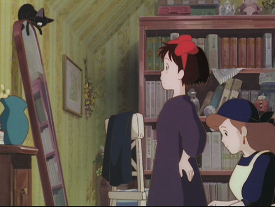 Kiki's Delivery Service: Kiki, Jiji, Mother