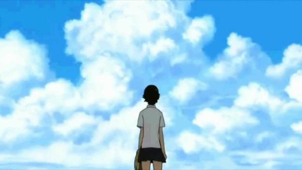 Toki wo kakeru Shoujo beautiful anime art, Makoto Konno