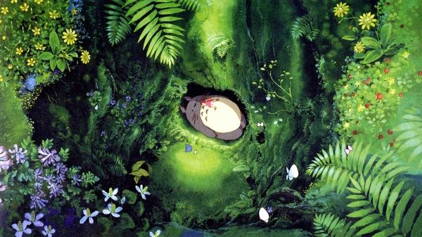 Tonari no Totoro, beautiful anime art