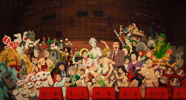 Paprika, beautiful anime art, Toshimi Konakawa