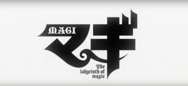 Magi: the Labyrinth of Magic, opening, logo, op