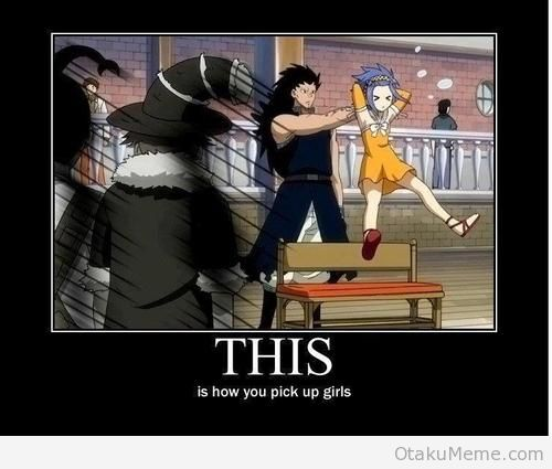 Fairy Tail Gajeel Redfox & Levy McGarden Fairy Tail memes