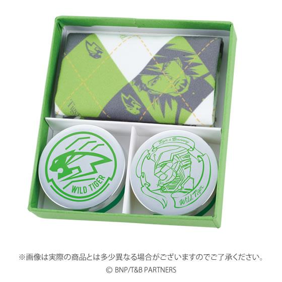 Tiger and Bunny Perfume, Lip Balm, Kerchief Kotetsu T. Kaburagi