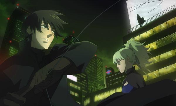 War Anime Darker than Black: Kuro no Keiyakusha