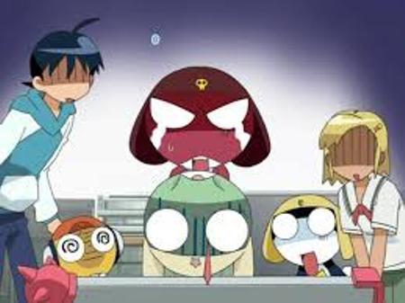 Keroro Gunsou, Keroro, Giroro, Tamama, Kururu