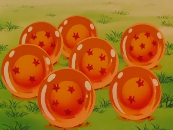 DBZ Kai Dragon Balls
