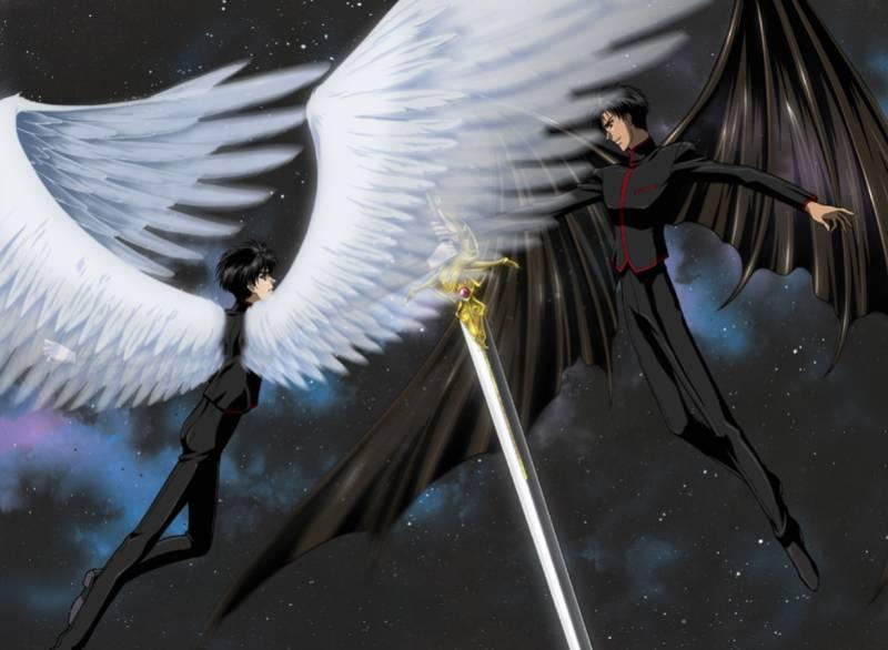 X - 1999, Kamui Shirou, Fuuma Monou, Anime, Fly
