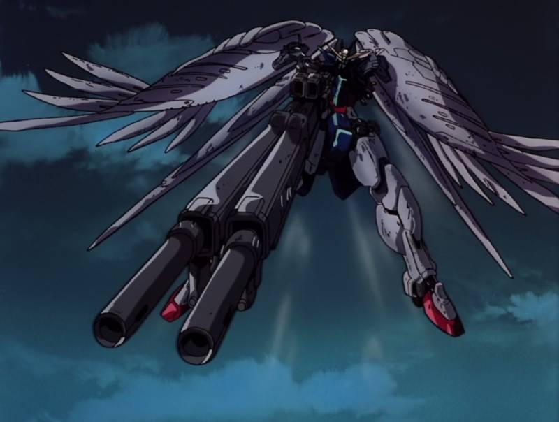 Mobile Suit Gundam Wing, Gundam Wing Zero, Anime, Fly