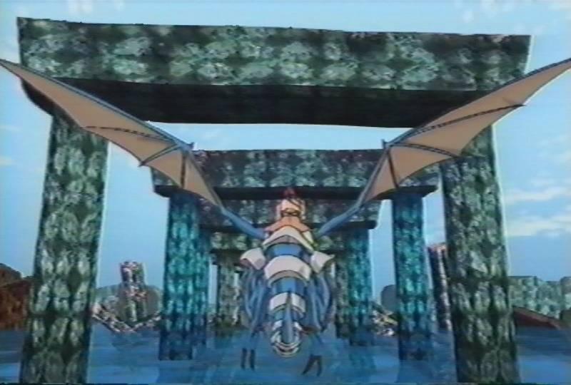 Panzer Dragoon, Anime, Fly