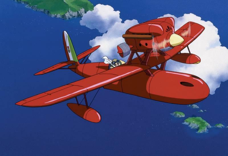 Porco Rosso, Anime, Fly