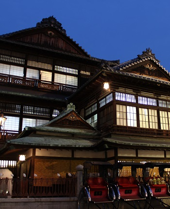 Dogo Onsen is the inspiration for the anime house in Sen to Chihiro no Kamikakushi also known as Spirited Away